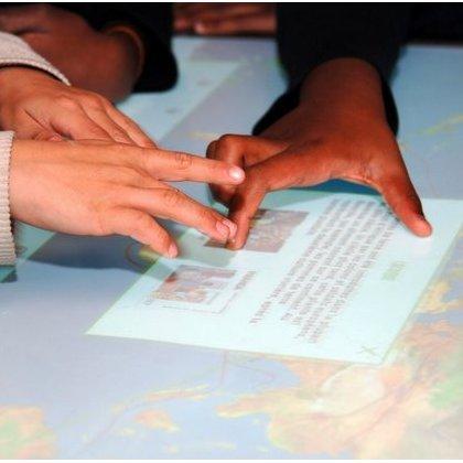 manipuler des corpus sur table tactile
