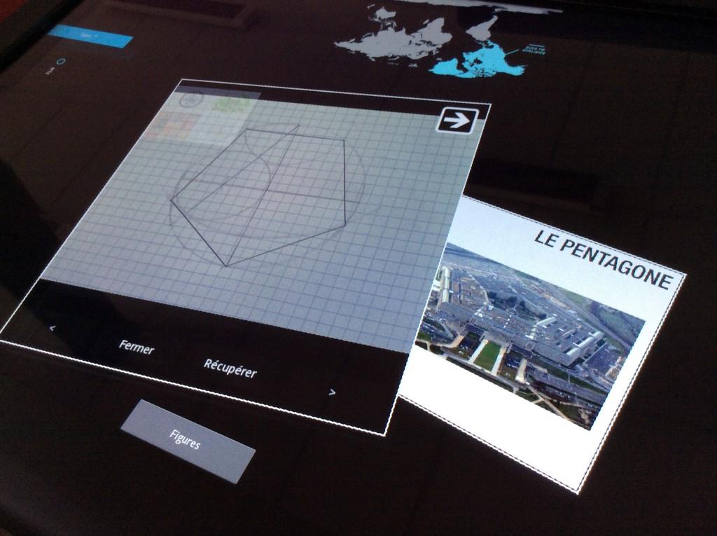 la démonstration du pentagone produite par les élèves